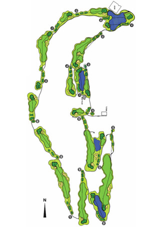 Arrabida Resort Golf Course map
