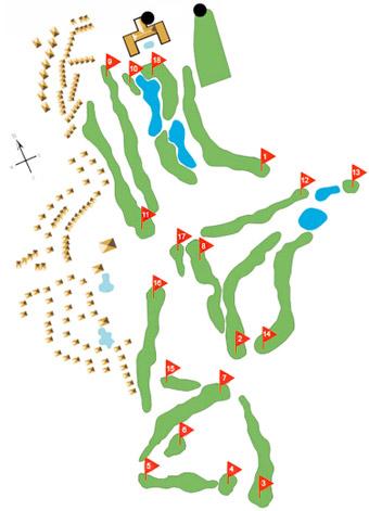 Quinta da Marinha Golf Course map