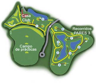 Costa Ballena Club Golf Course map