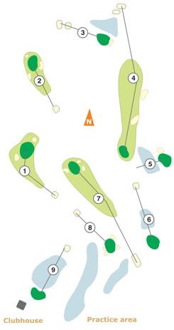 Paço do Lumiar Golf Course map