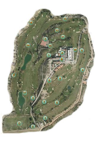 Granada Club Golf Course map