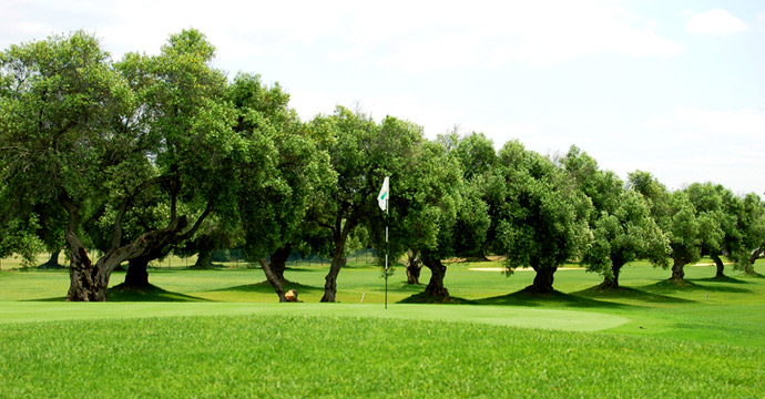 Spain Golf Courses SanctiPetri Campano Teetimes