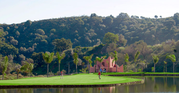 Spain Golf Alferini Club Golf Course Three Teetimes