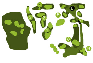 Benalmadena Golf Course map