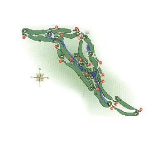 Real Club de Las Brisas Golf Course map