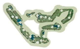 Sancti Petri Hills Golf Course map