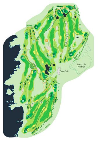 Buenavista Golf Course map