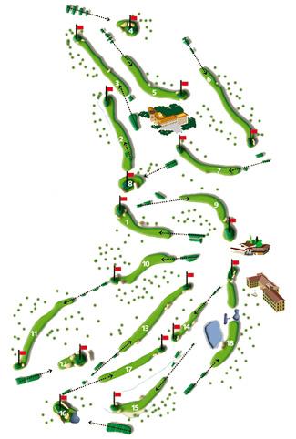 Son Muntaner Golf Course map