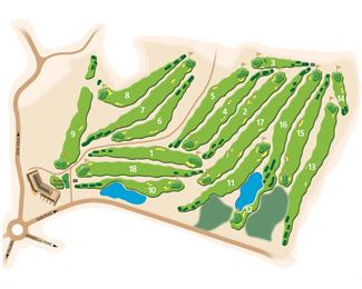 Son Quint Golf Course map