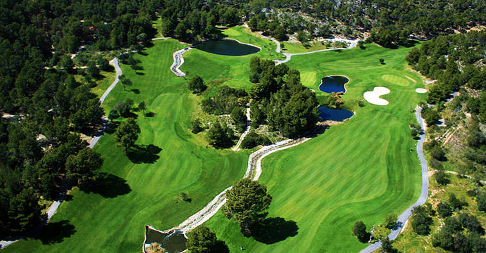 Spain Golf Andratx Trio Experience Four Teetimes