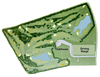 Park Mallorca Golf Course map