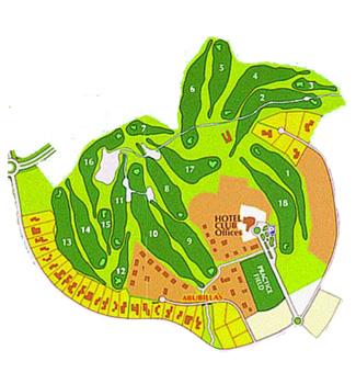 Santa Ponsa II Golf Course map