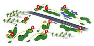 Santa Ponsa III Golf Course map