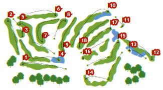 Maioris Golf Course map
