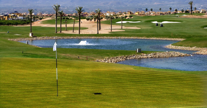 Spain Golf Hacienda del Alamo Resort Golf Course Three Teetimes
