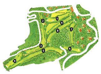 Don Cayo Golf Course map