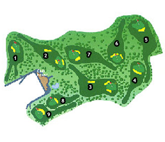 Ifach Golf Course map