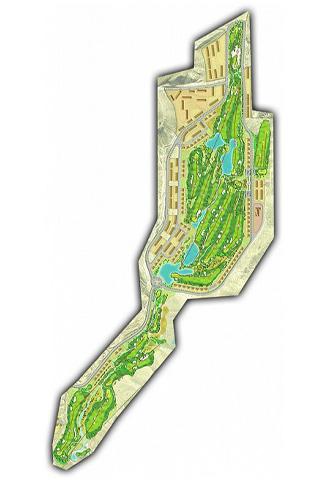 Font del Llop Golf Course map