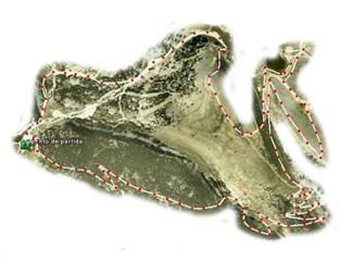 Port del Compte Golf Course map