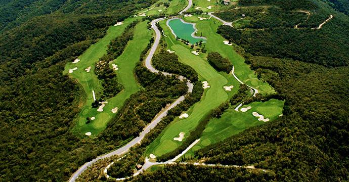 Spain Golf Costa Brava Green Golf Course Three Teetimes