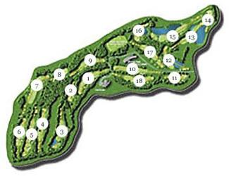 P.G.A. Catalunya - Tour Golf Course map