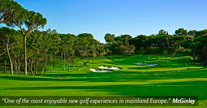 Portugal Golf Quinta do Lago Golden Tournament Three Teetimes