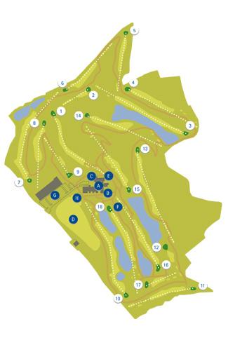Club de Retamares Golf Course map