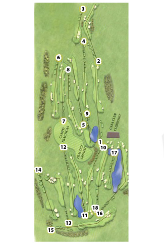 National Center Golf Course map