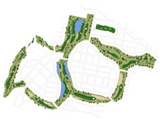 Aranjuez Golf Course map