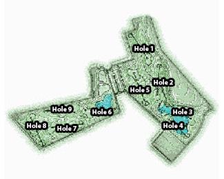 Park Entertainment S.A. Golf Course map