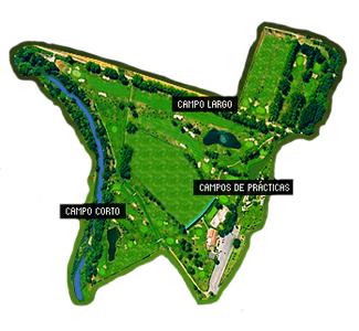 Palacio del Negralejo Golf Course map