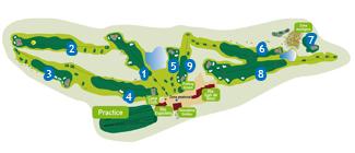 Grandvalira Soldeu Golf Course map