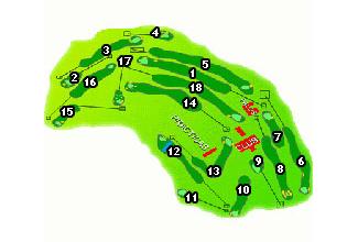 Real Club de Castiello Golf Course map