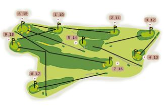 Real Zarauz Golf Course map
