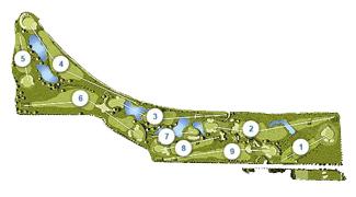 La Junquera Golf Course map