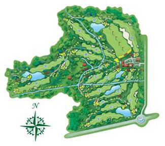 Palomarejos Golf Course map