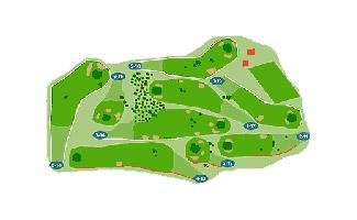 El Espinar Golf Course map