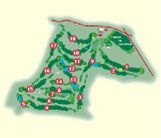 Soria Golf Course map