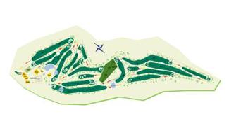 Real Aeroclub de Santiago Golf Course map