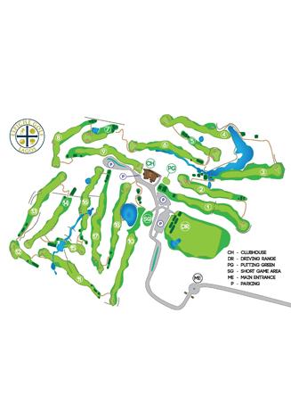 Espiche Golf Course map
