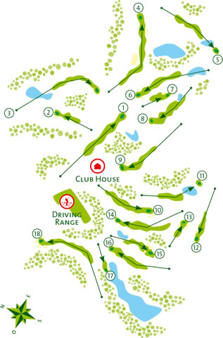 Castro Marim Golf Course map