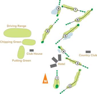 Penha Longa Atlantic North & South Golf Course map