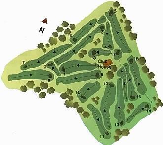 da Ilha Terceira Golf Course map