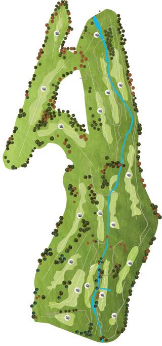 Vidago Palace Golf Course map