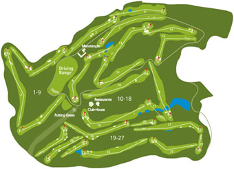 Montebelo Golf Course map